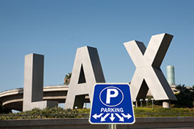 LAX parking rates