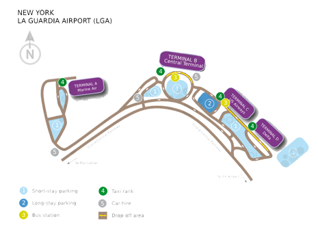LGA long term parking